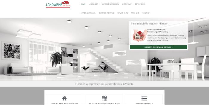 Die Neue Website Der Landwehr Bau GmbH Ist Online