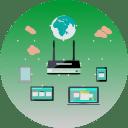 Internet, DSL, Kabel Und LTE