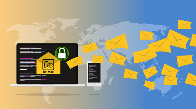 Kommunen Verschlüsseln Meistens Mit De-Mail